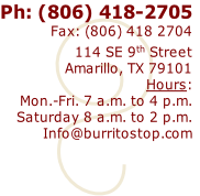 Ph: (806) 418-2705